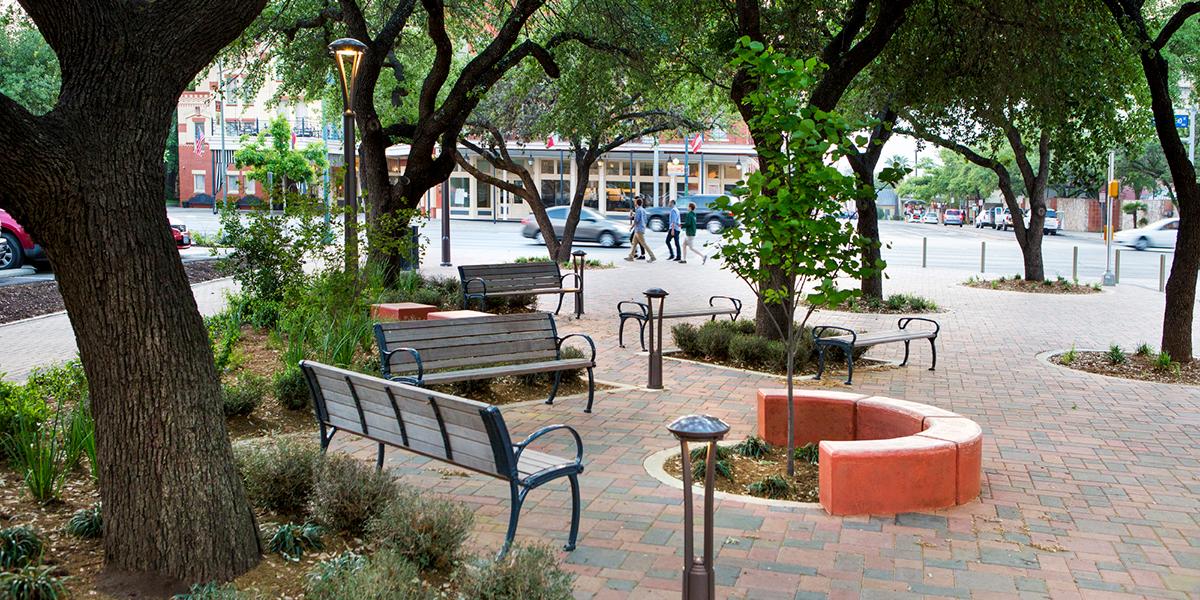 Hemisfair Interior Area Streets