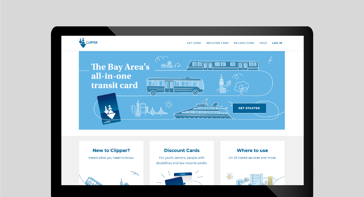 Clipper Accessible Website