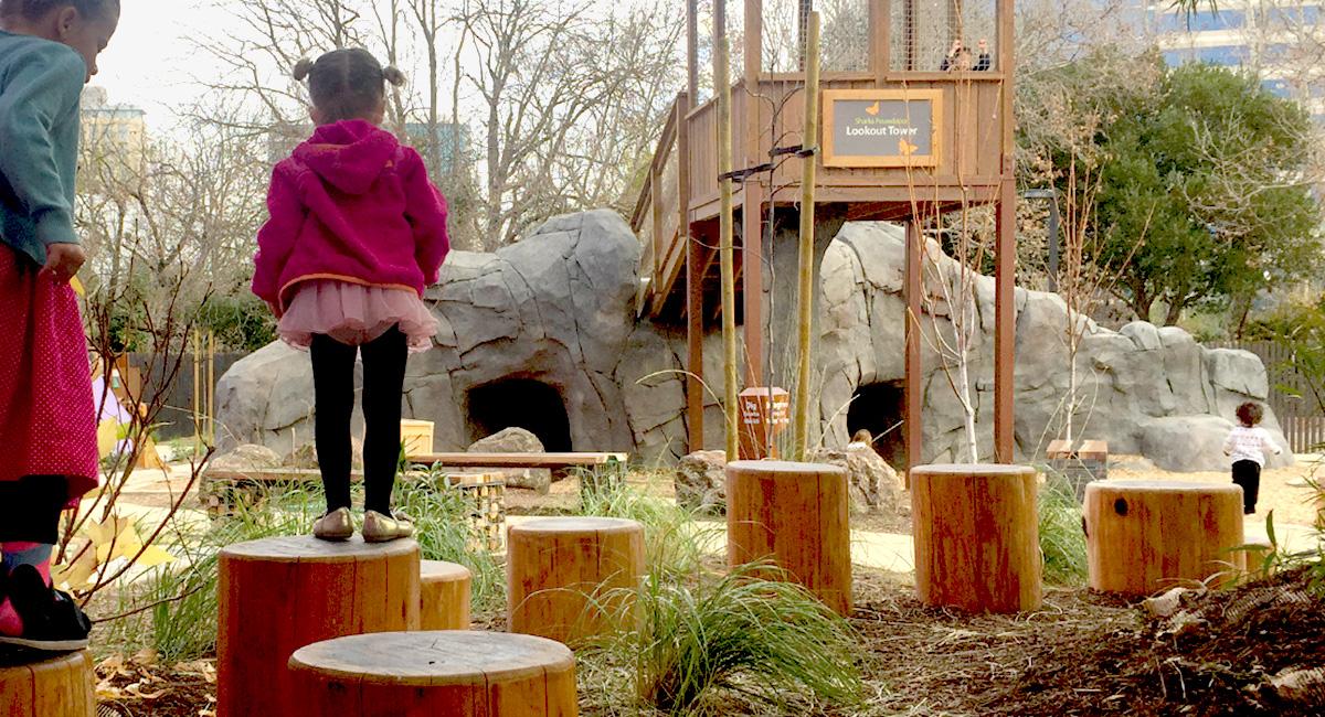 Bill's Backyard Play Area