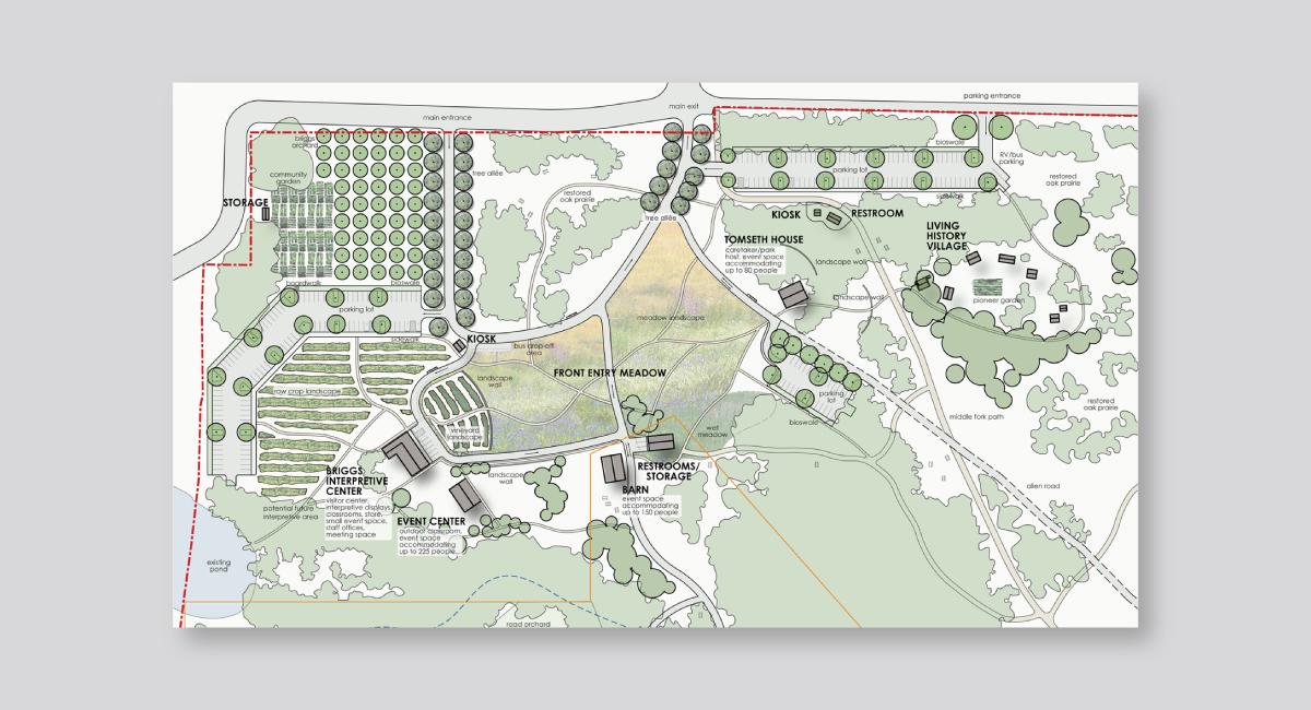 Dorris Ranch Map