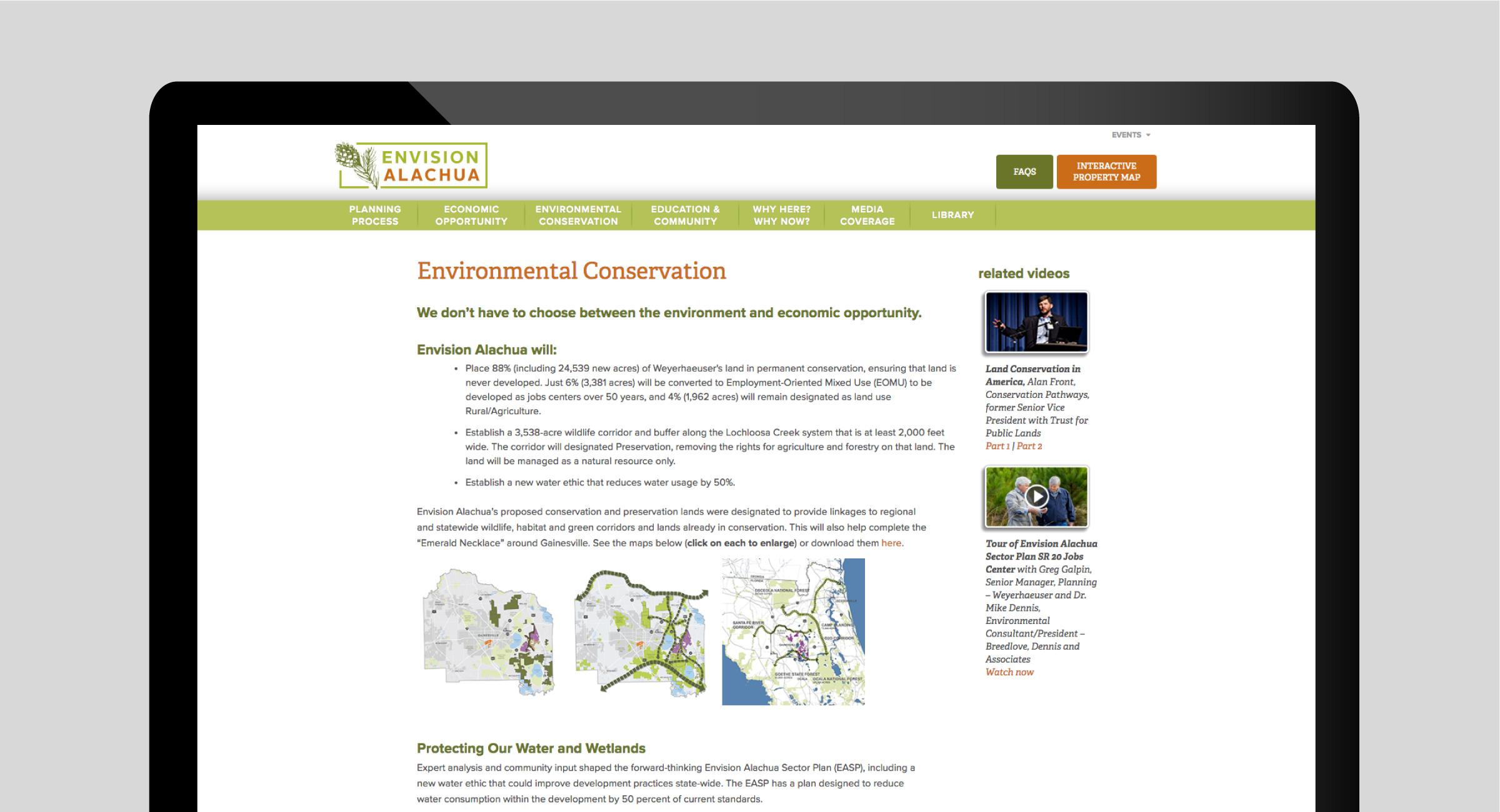Envision Alachua Website
