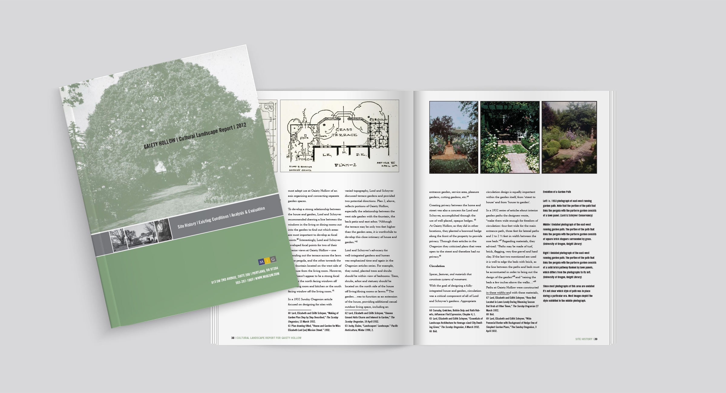 Gaiety Hollow Cultural Landscape Report