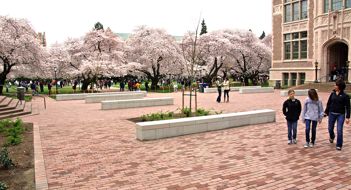 UW Savery Hall Plaza