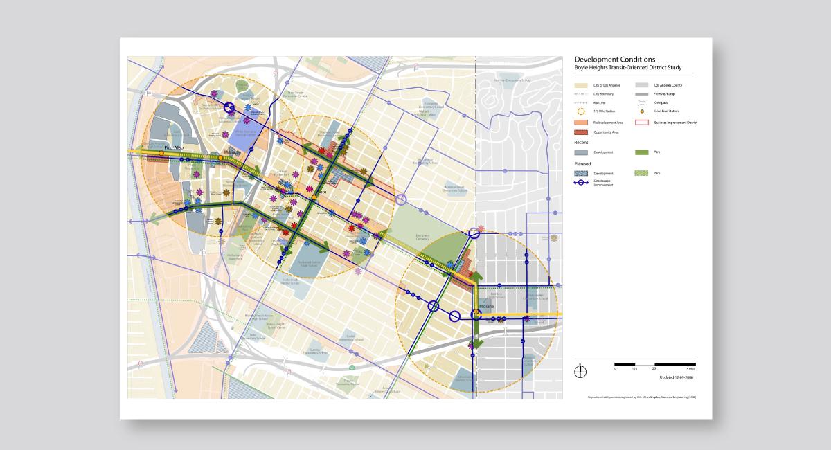 Metro Gold Line TOD Plan