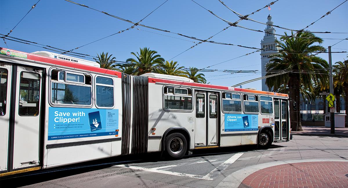 Clipper Bus Ad
