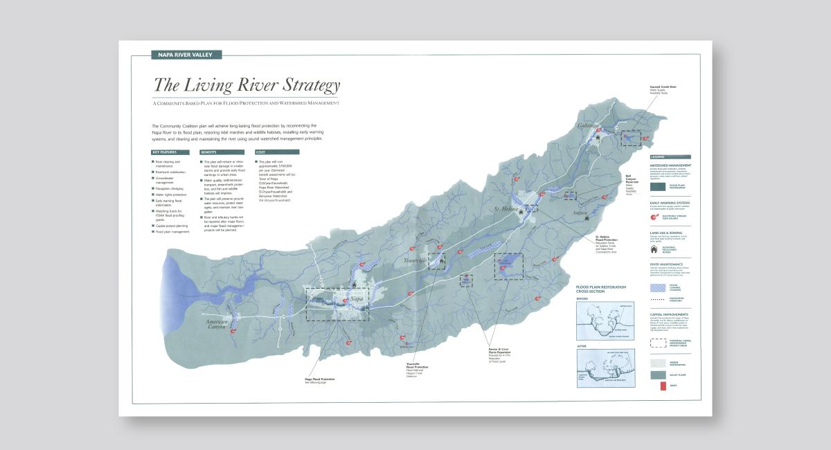 Napa River Map