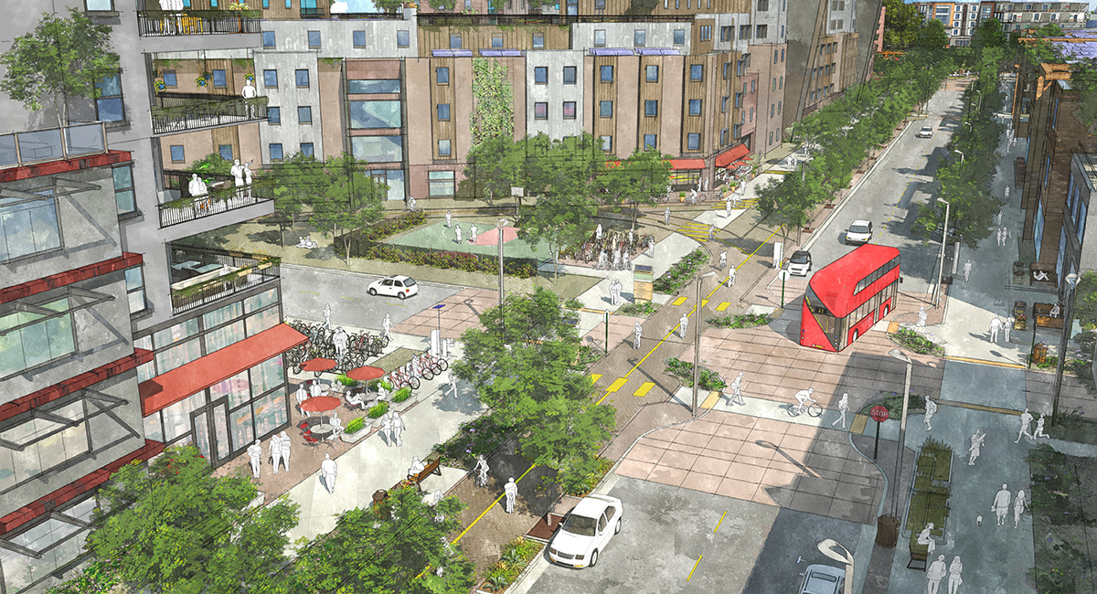 Nishi Gateway Sustainable Innovation District
