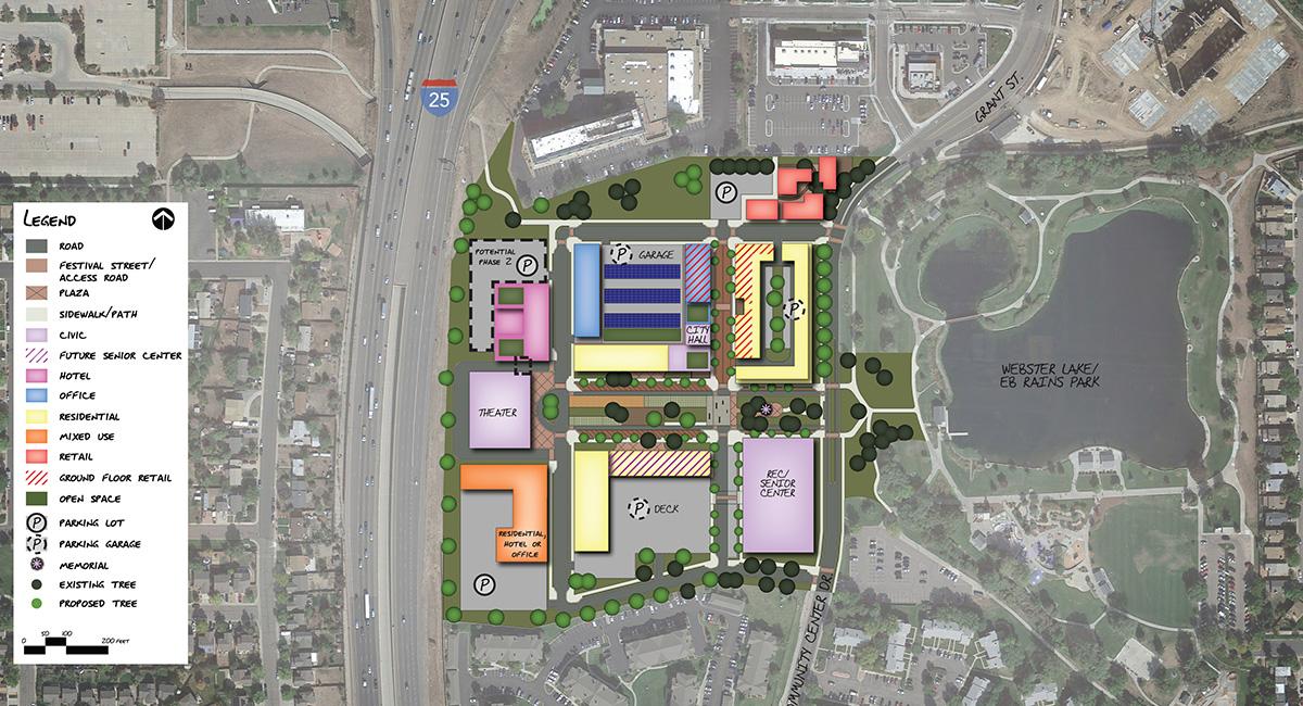 Northglenn Civic Center Site Plan