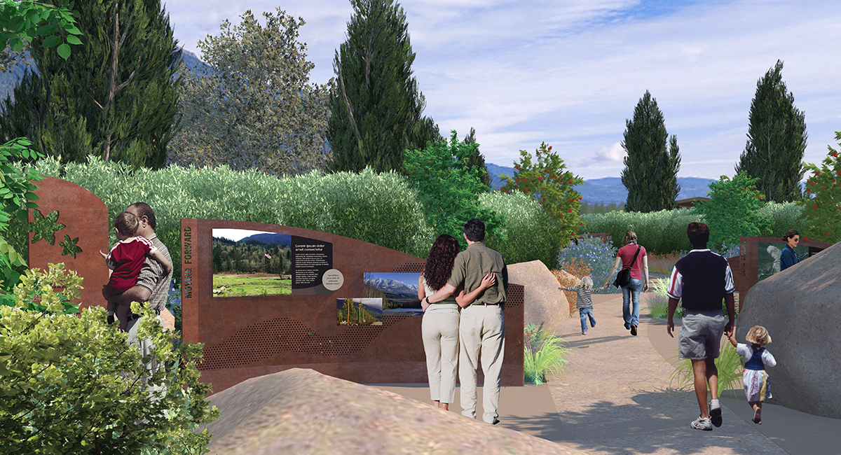 SR 530 Mudslide Memorial Concept