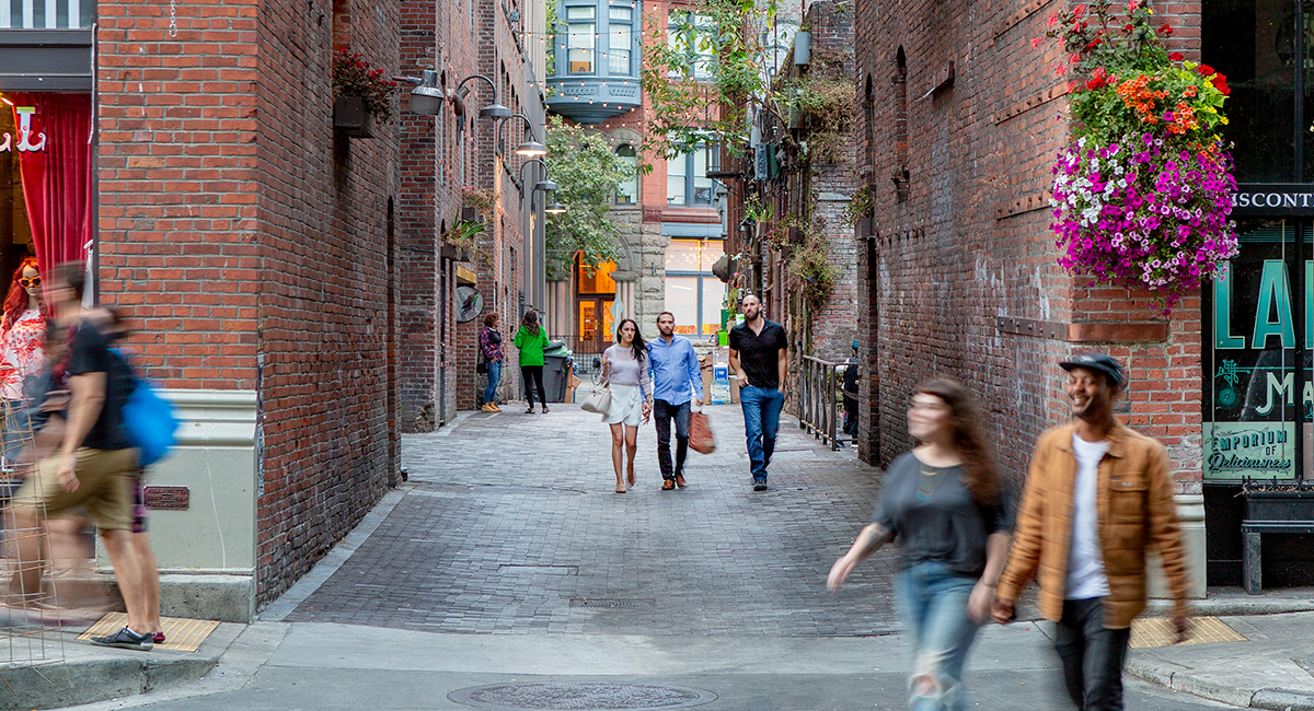 Pioneer Square Alleys