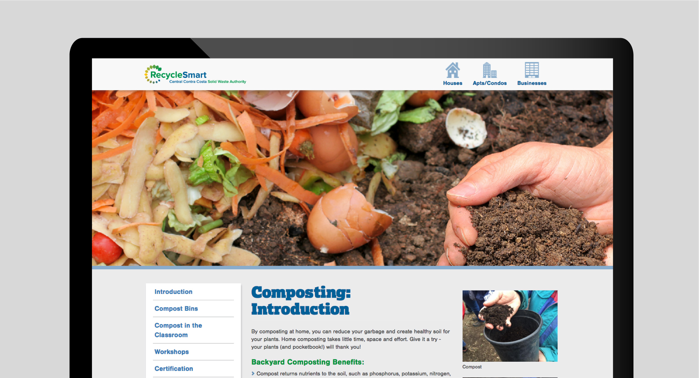 RecycleSmart Website
