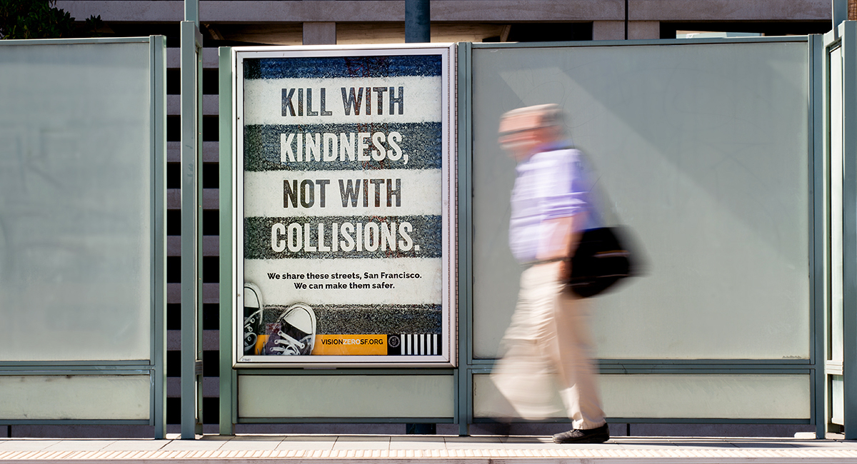 Vision Zero SF Traffic Safety Campaign