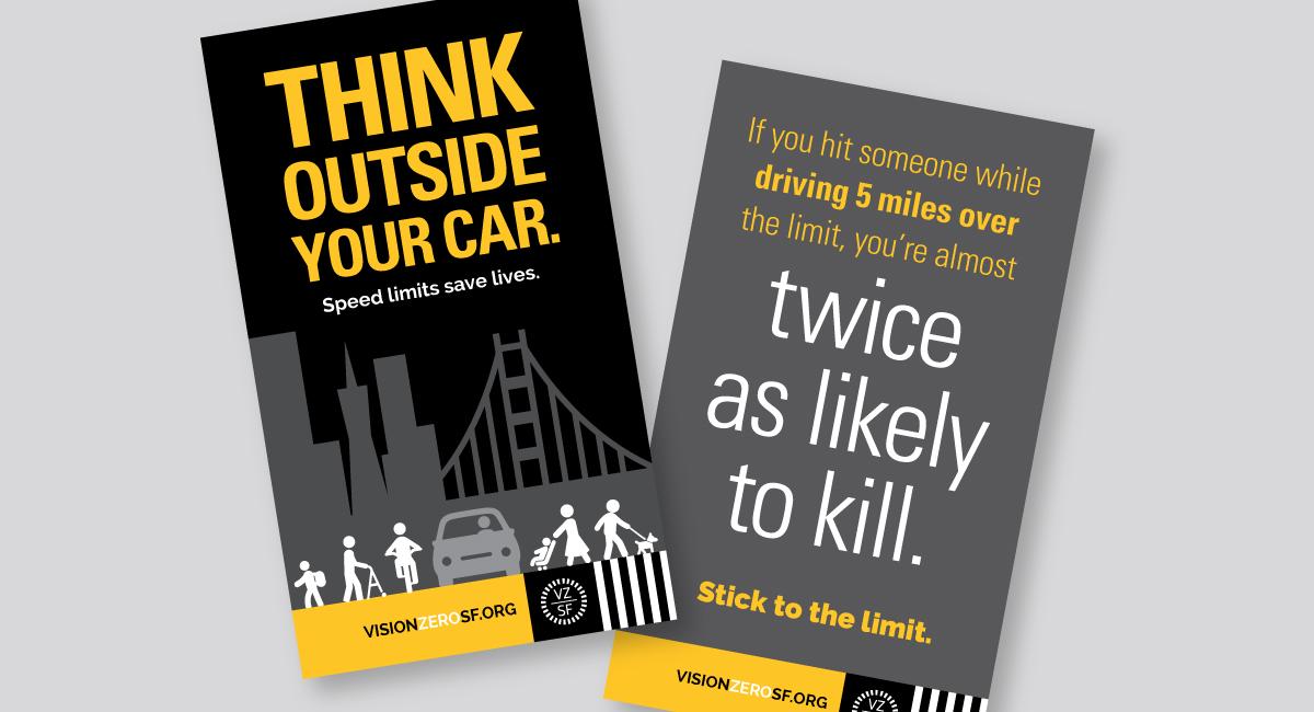 Vision Zero Speeding Behavior Change Campaign