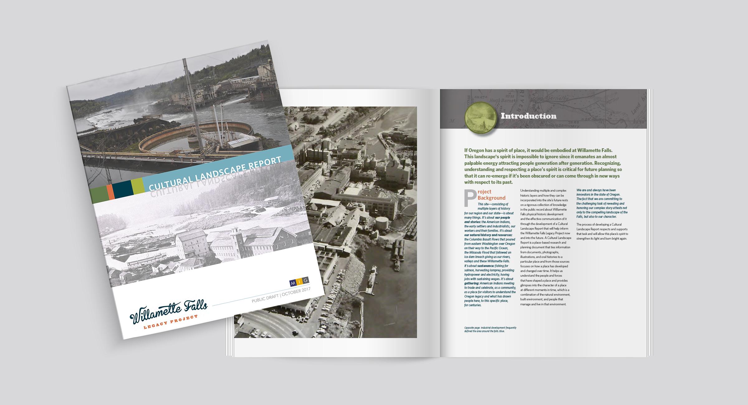 Willamette Falls Cultural Landscape Report