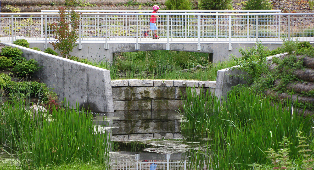 Thornton Creek Water Quality Channel