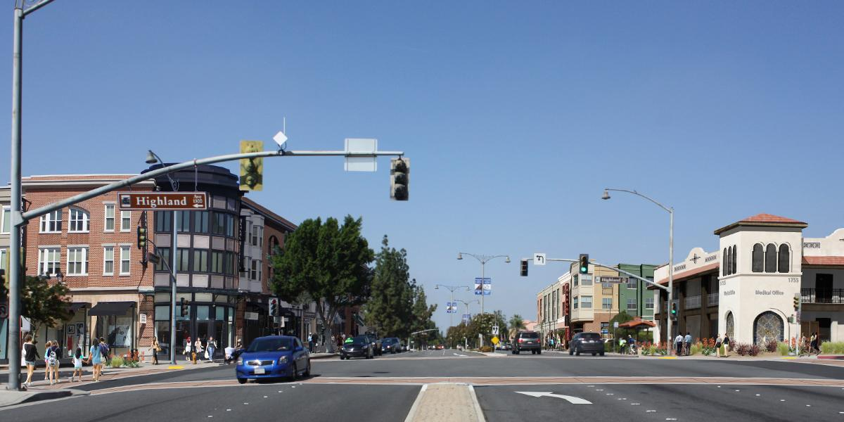 Potential huntington and highland intersection
