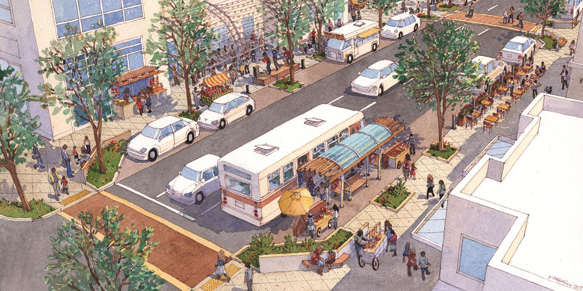 Streets Reconsidered, Best Practices for Commerce Streets