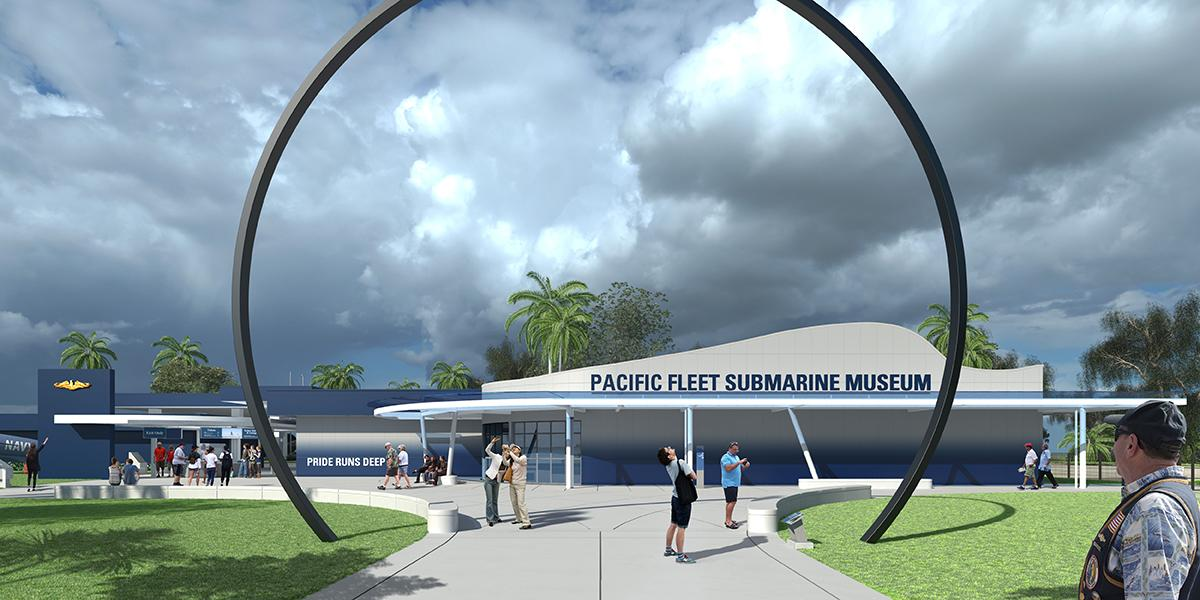 Groundbreaking of Pacific Fleet Submarine Museum