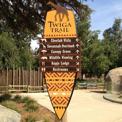 Wayfinding and Signage for African Adventure