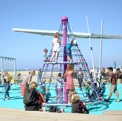 Accessible Beach Playground