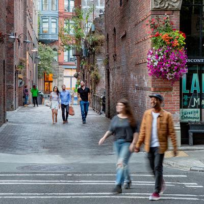 Pioneer Square Alleys