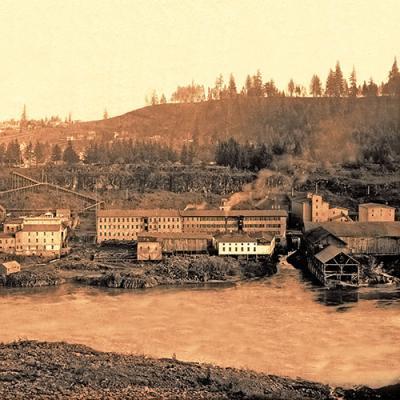 Willamette Falls 1892