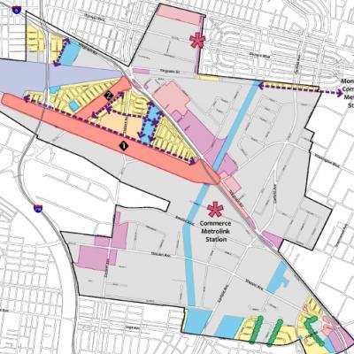 Commerce Green Zones Map